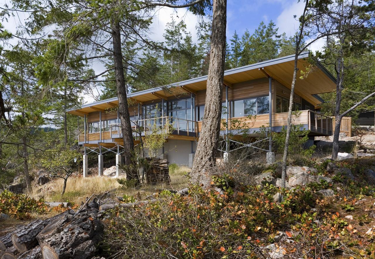 Cortes Island Residence / Balance Associates Architects, © Steve Keating Photography