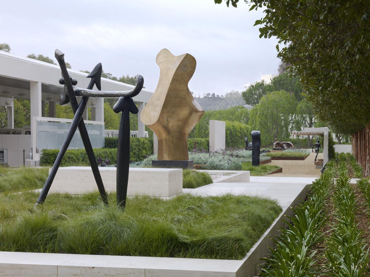 Gallery Of Fran And Ray Stark Sculpture Garden J Paul