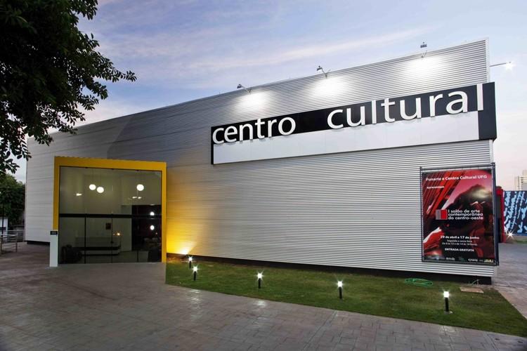 Cultural Center UFG / Fernando Simon, © Helio Sperandio