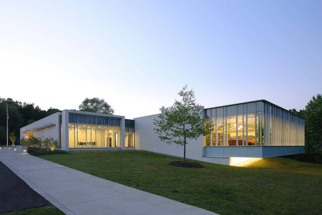 5 Architects Simple Hockessin Public Library  Ikon.5 Architects  Archdaily Review