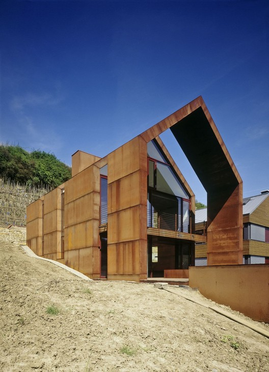 Wurth House in Wormeldange / HVP