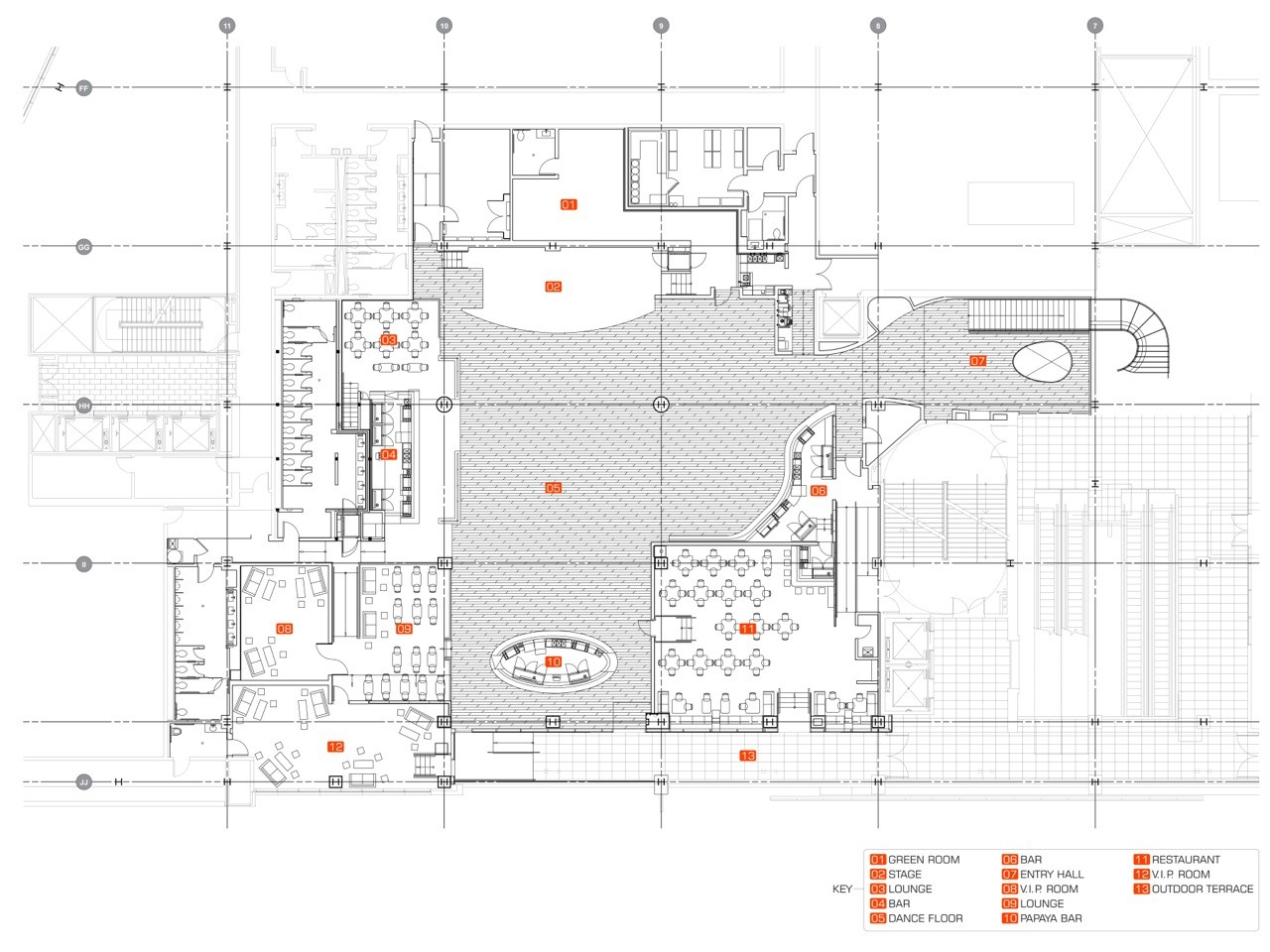 Gallery Of The Conga Room Belzberg Architects 38 Media Wiring Diagram Roomplan