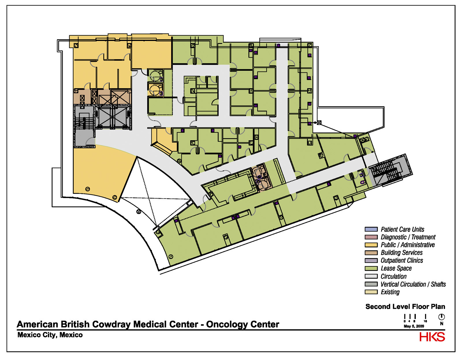 Athletic Training Room Floor Plan Gallery Of Abc Cancer Center Hks 13
