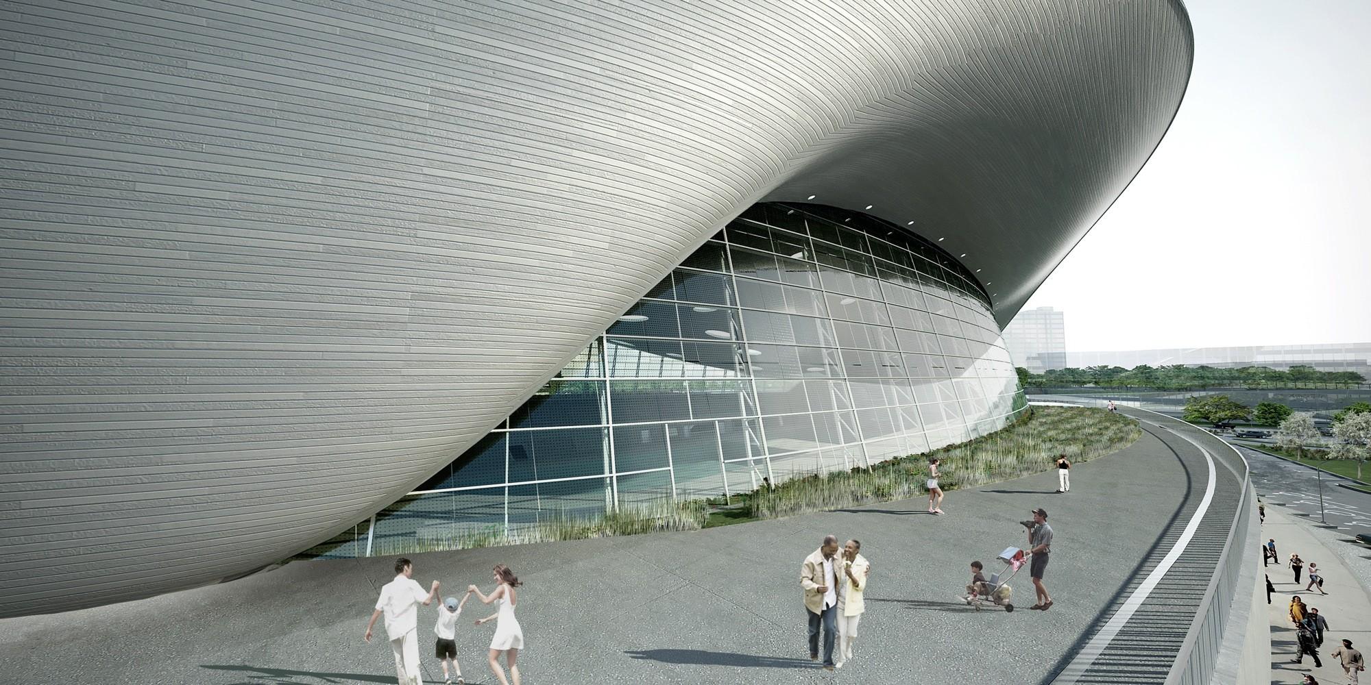 Gallery of London Aquatics Centre for 2012 Summer Olympics ...