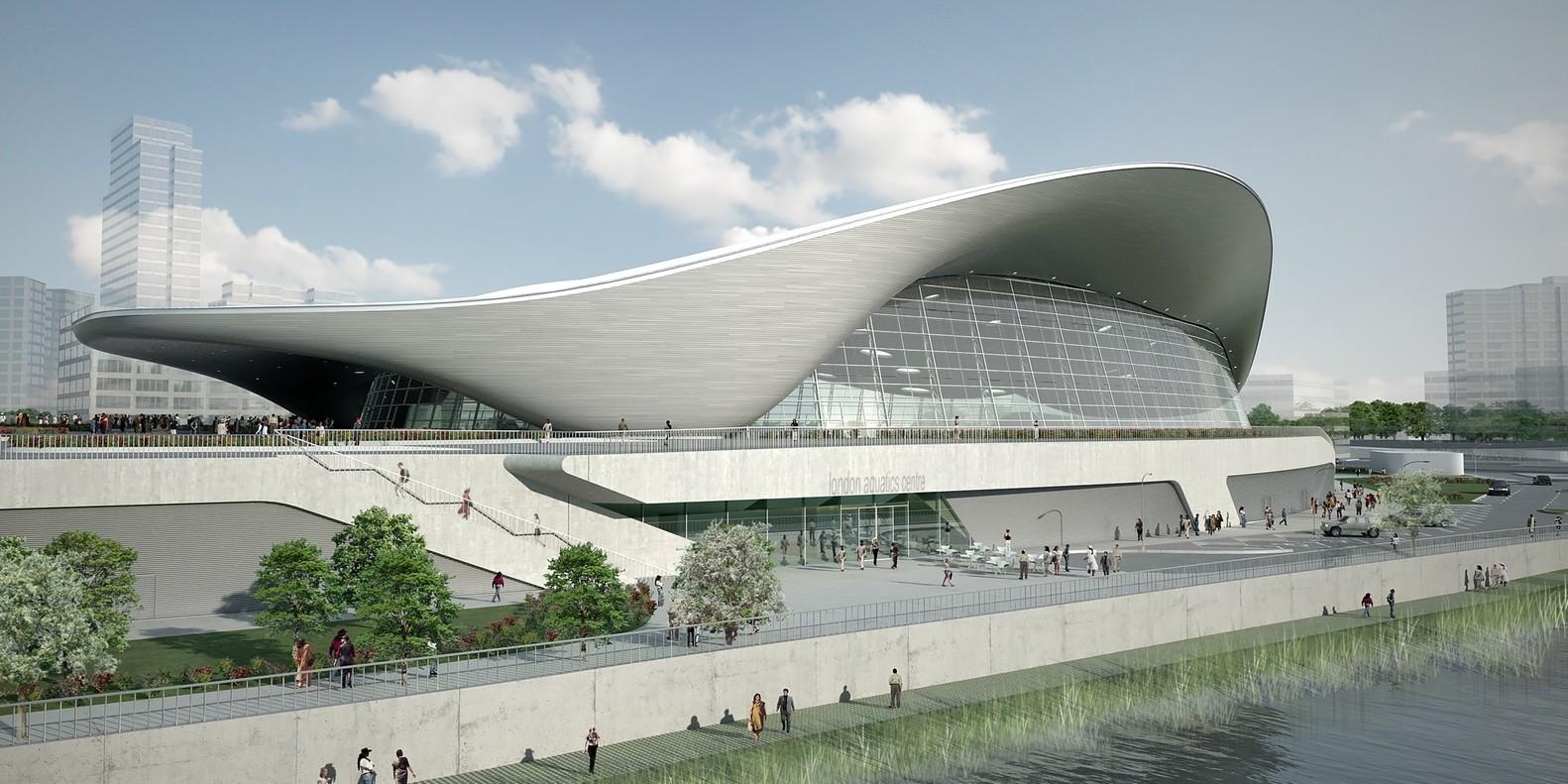 Zaha Hadid London Olympics Aquatics Center