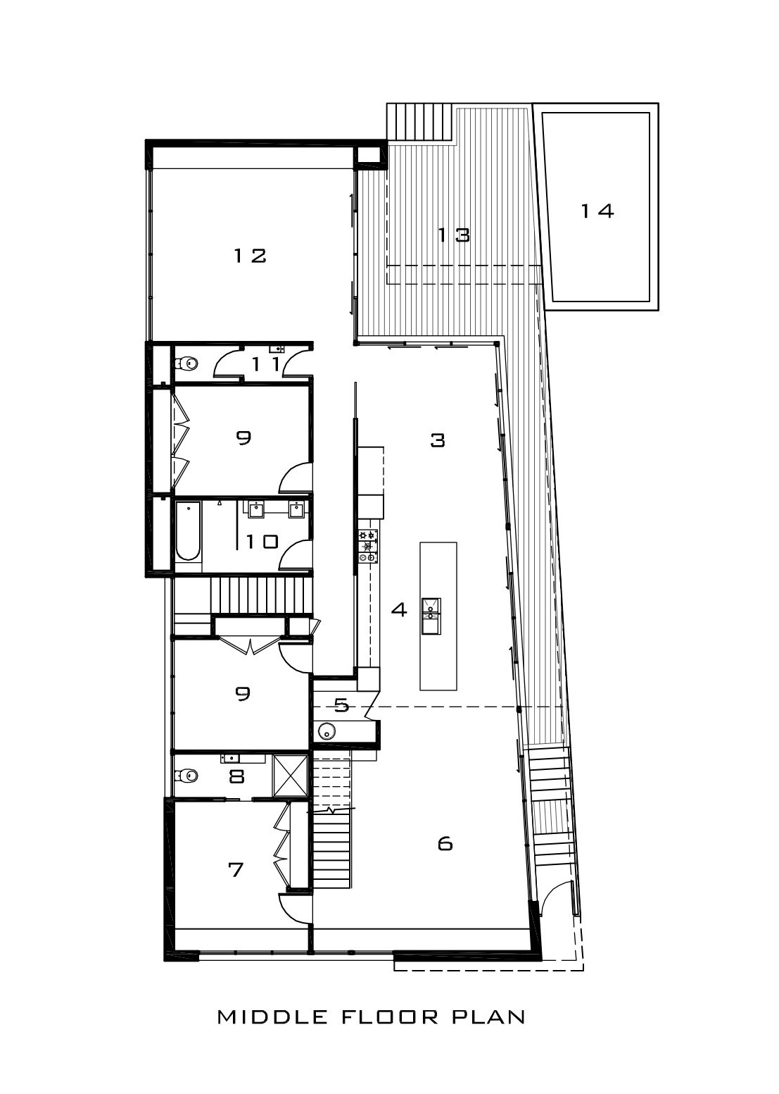 Gallery Of Mercer House Vibe Design Group 16