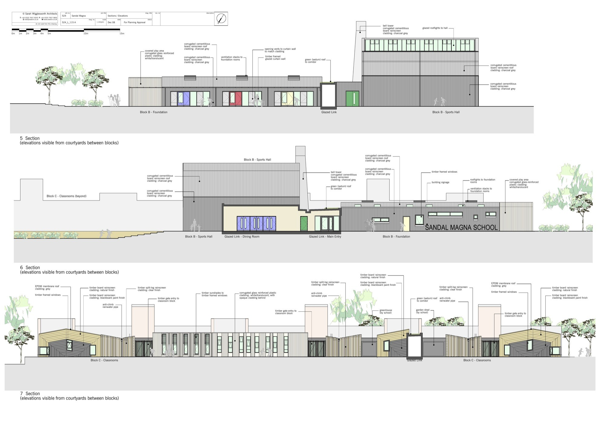 Primary School Plan Elevation : Gallery of sandal magna community primary school sarah