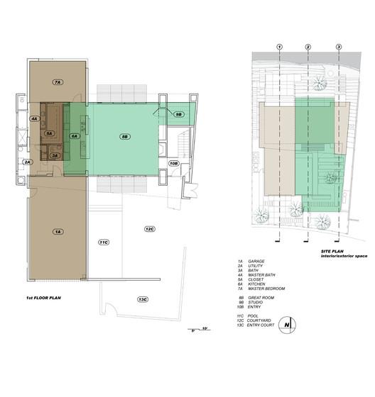 Ground Level Plan & Site Plan