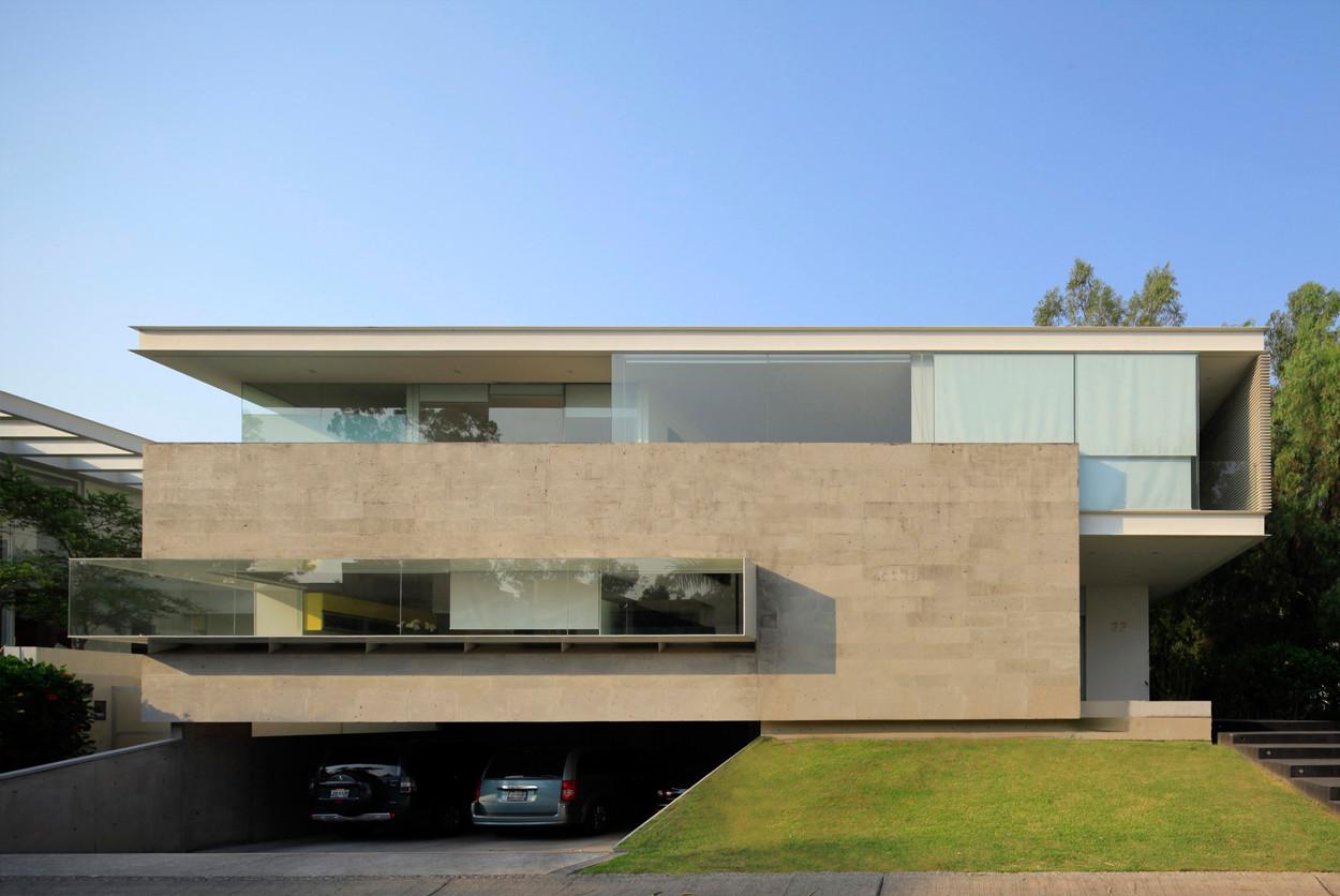 Gallery of godoy house hernandez silva arquitectos 3 for Arquitectura casas pequenas