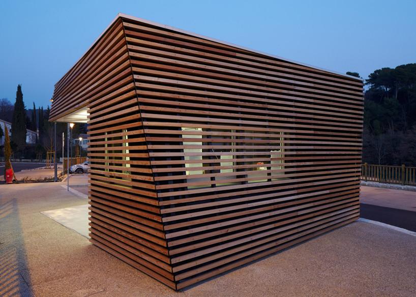 Parking Attendant's Pavilion / Jean-Luc Fugier, © Philippe Piron