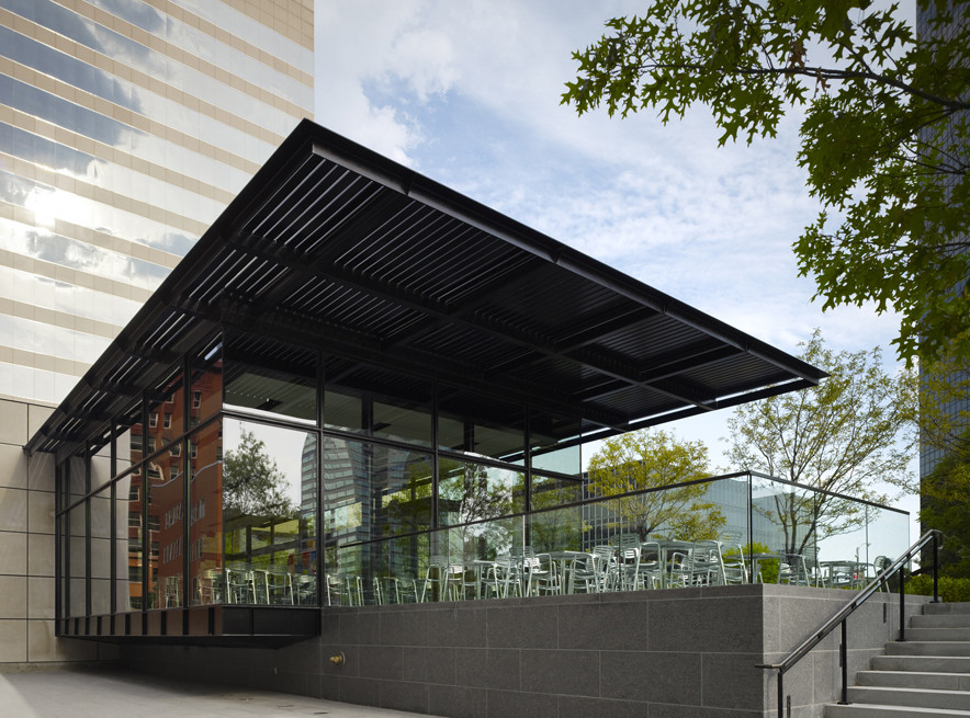 Terrace View Cafe / Studio | Durham Architects, © Steve Hall at Heidrich Blessing