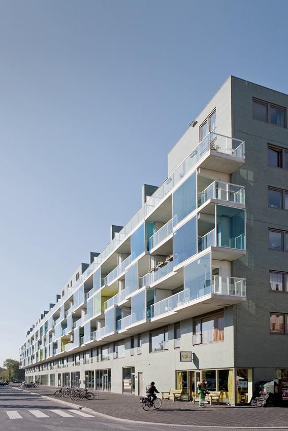 Karspeldreef Block AB / Dick van Gameren architecten, © Marcel van der Burg - Primabeeld