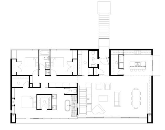 Second Level Floor Plan