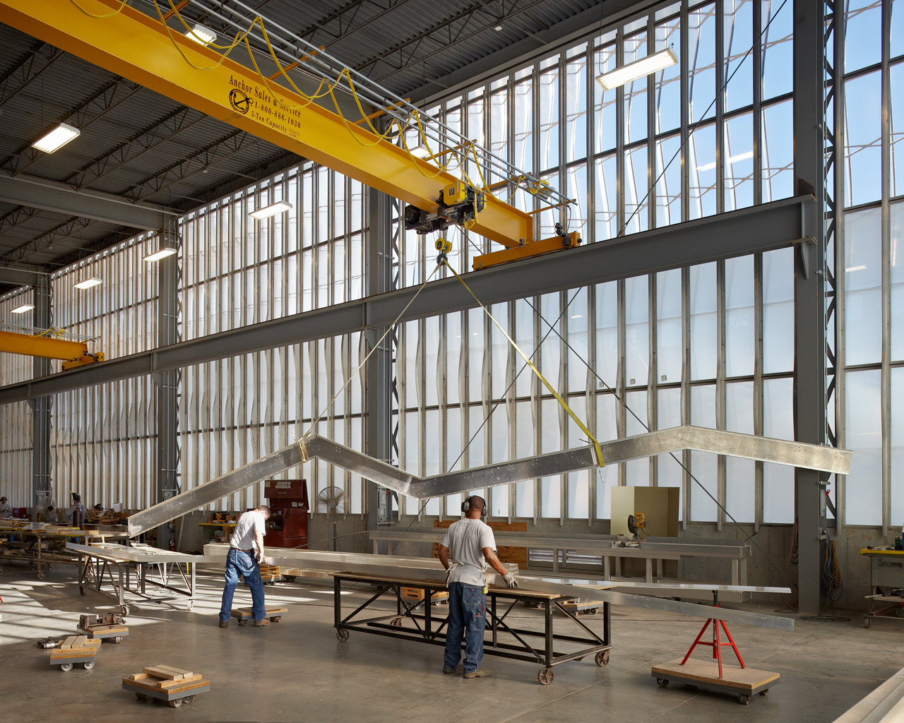 Gallery Of Zahner Factory Expansion Crawford Architects 7
