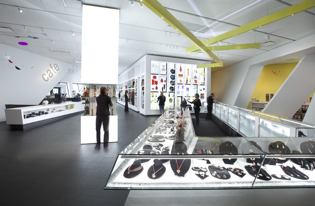 Denver Art Museum Museum Shop Roth Sheppard Architects