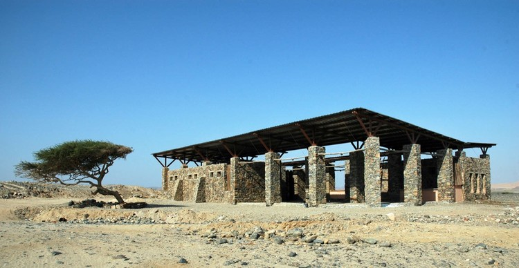 Wadi El Gemal Visitors Center / Egyptian Earth Construction Association, Courtesy of  nour rifai & ramses nosshi