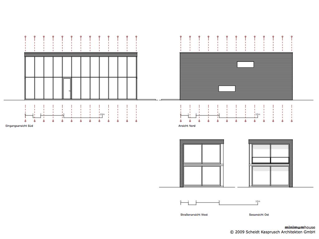 Minimum Gmbh gallery of minimum house scheidt kasprusch architekten 15