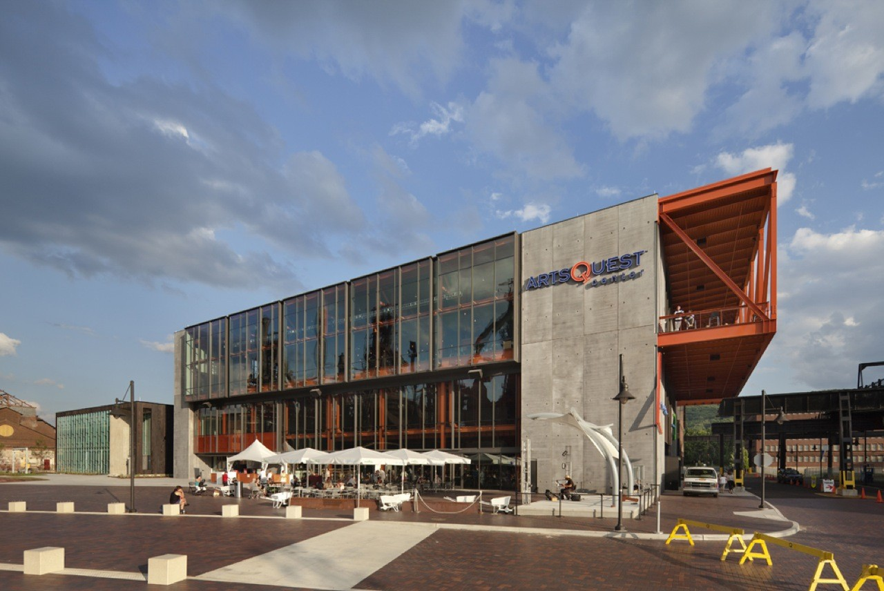 The Artsquest Center At Steelstacks Spillman Farmer