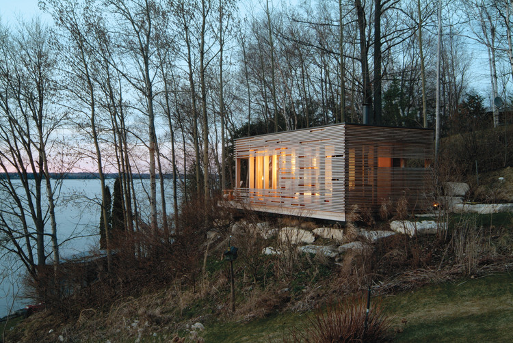 Flashback: Sunset Cabin / Taylor Smyth Architects, © Ben Rahn / A-Frame Inc.