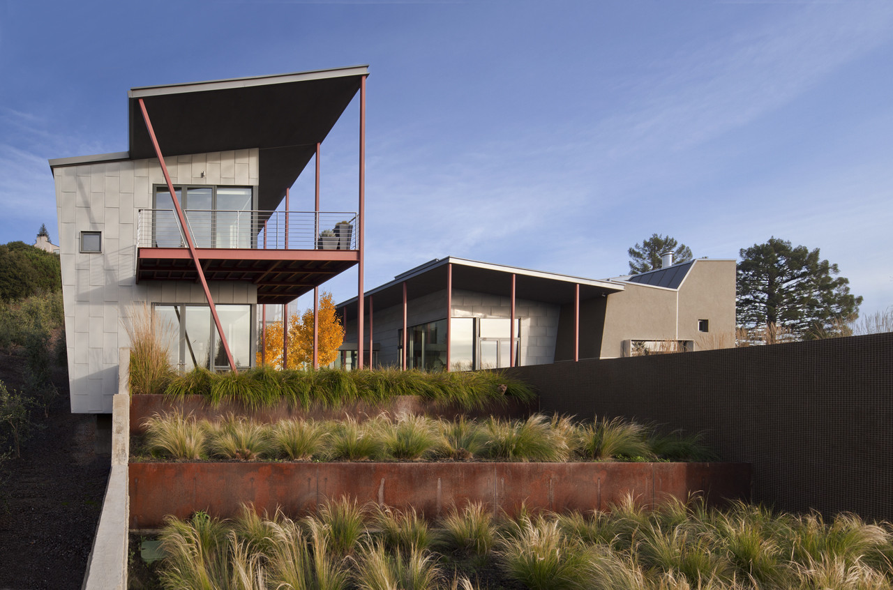 Berkeley Courtyard House / WA Design | ArchDaily