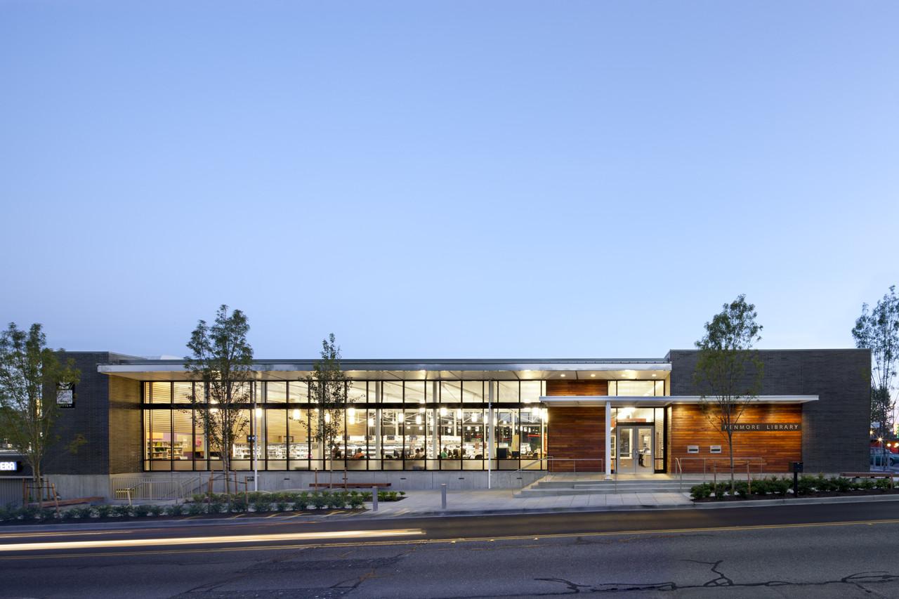 Kenmore Library / Weinstein A|U, © Lara Swimmer