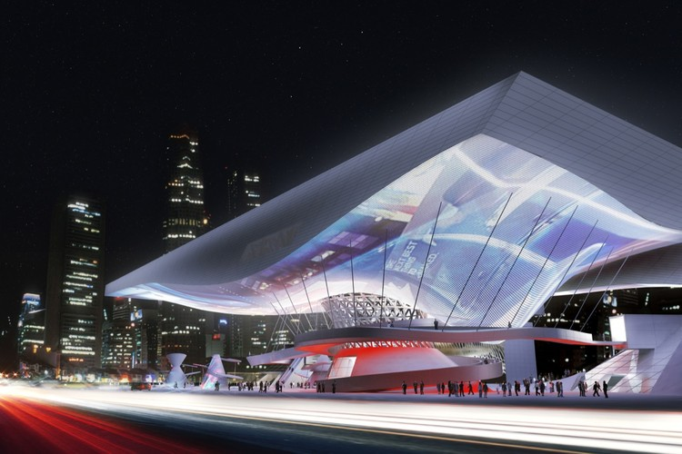 Cinema Center in Busan, South Korea / Coop Himmelb(l)au  ArchDaily