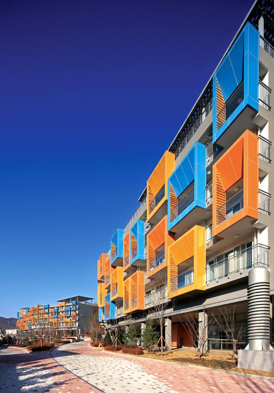 Pan Gyo Housing / MACK Architect(s), Courtesy of  mack architect(s)