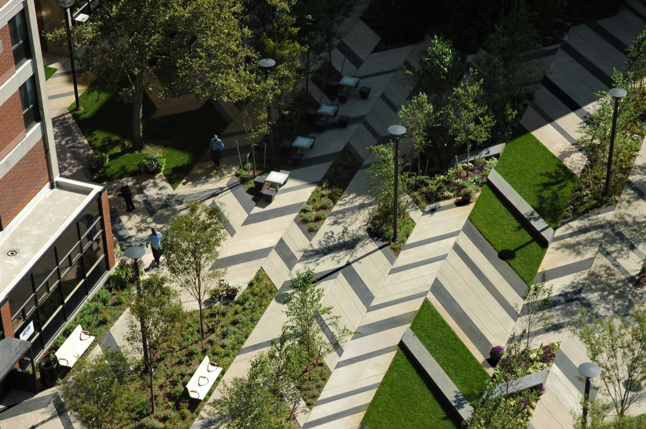Levinson Plaza, Mission Park / Mikyoung Kim Design, Courtesy of  mikyoung kim design