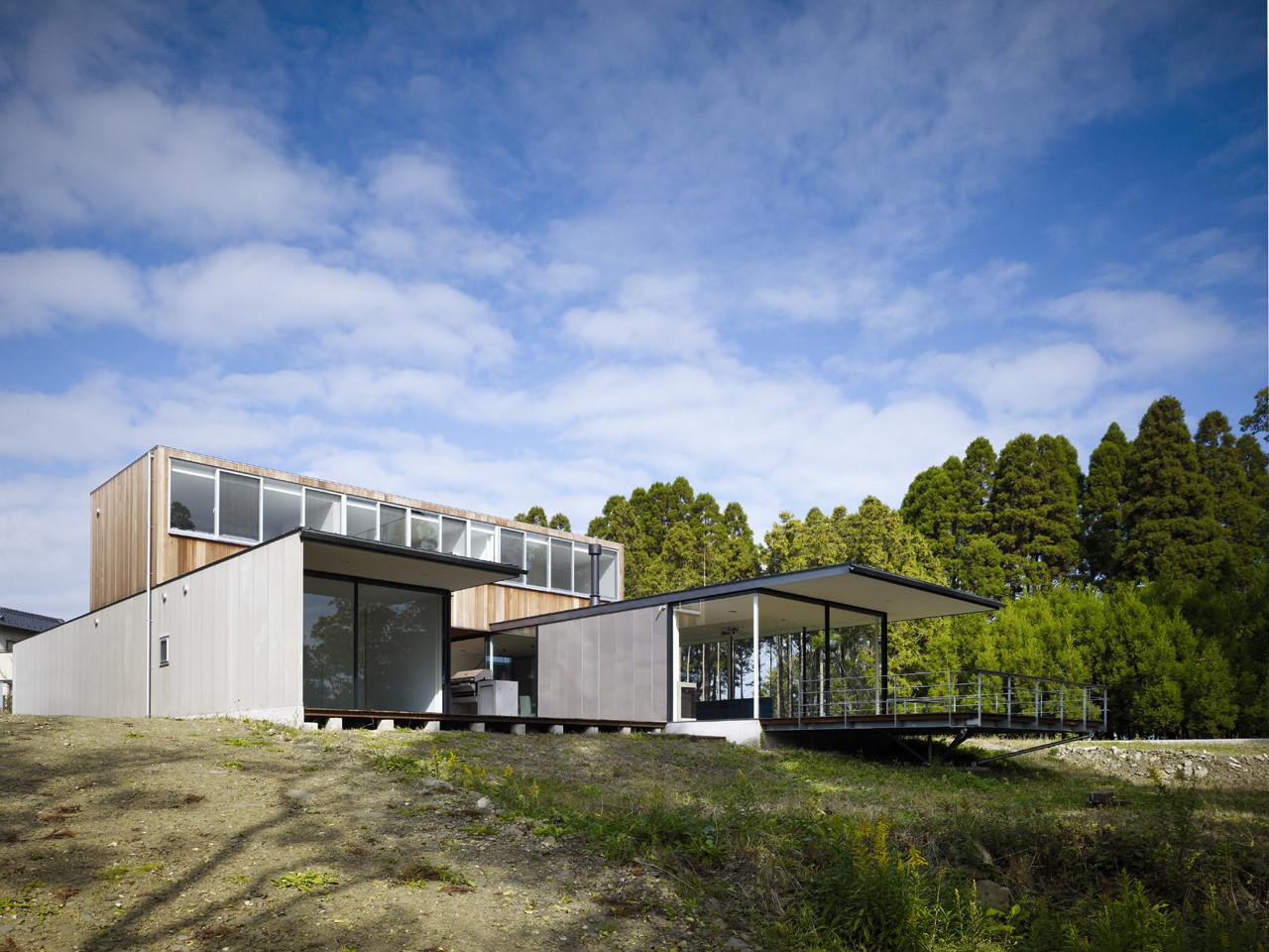 beautiful riverside house plans #3: Riverside House / Keiji Ashizawa Design, © Daici Ano