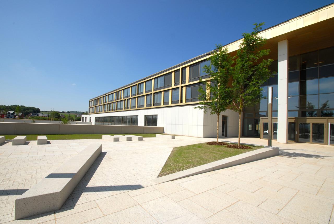 Lycée Bel Val / Atelier d'Architecture et de Design Jim Clemes, Courtesy of  atelier d'architecture et de design jim clemes s.a.