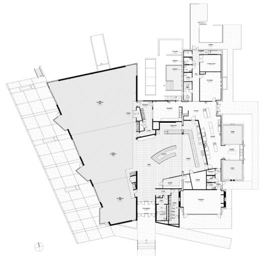 Kent Denver School Center For The Arts: Kent Denver Dining Hall / Semple Brown Design