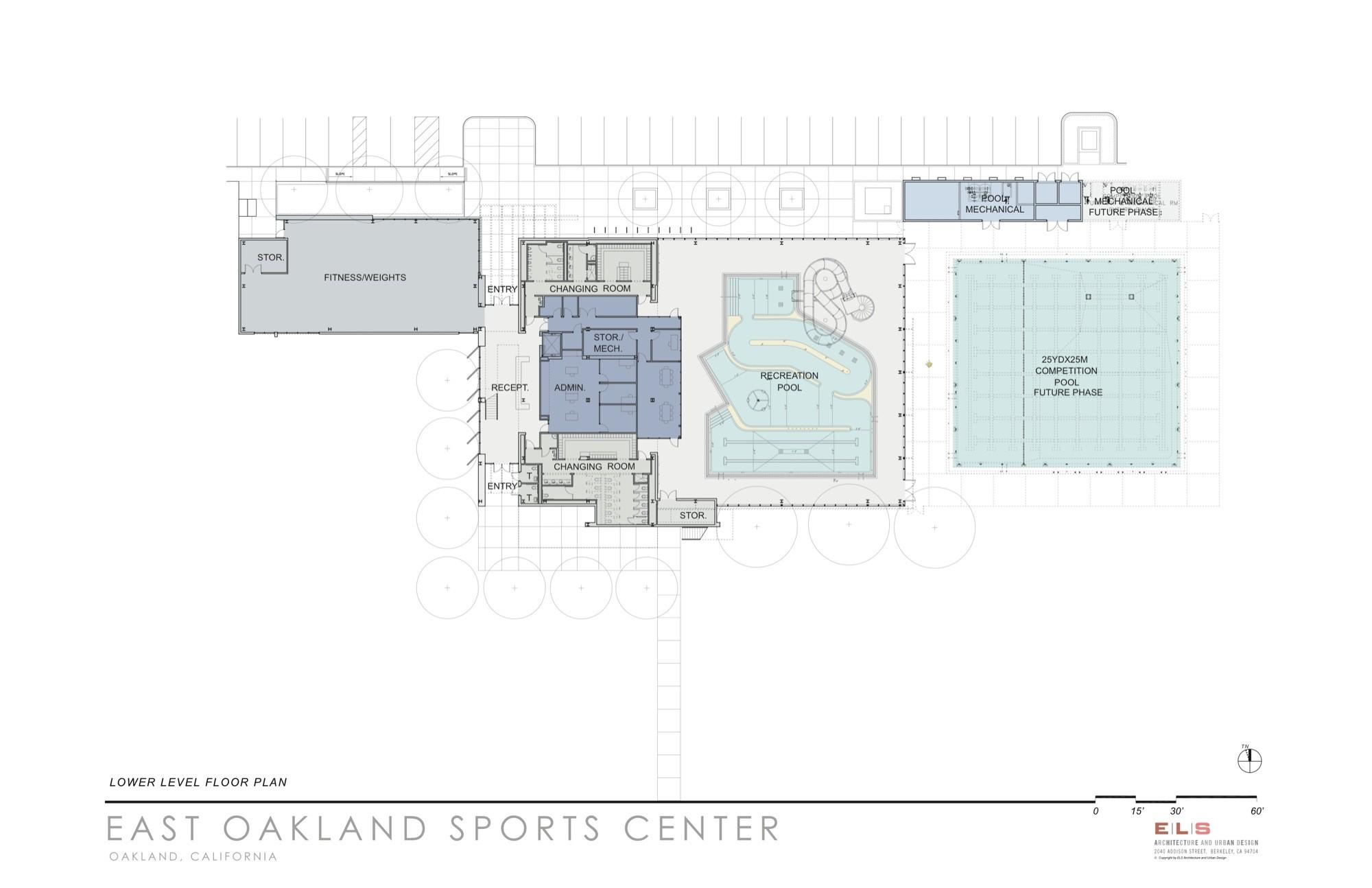East Oakland Sports CenterFloor Plan