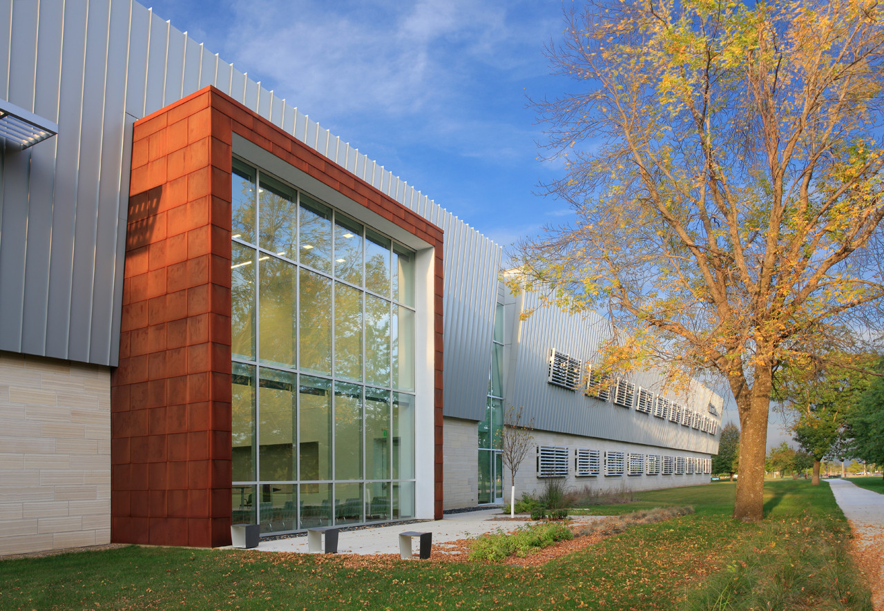 University of Iowa BioVentures Center / OPN Architects, ©  Wayne Johnson,  Main Street Studio