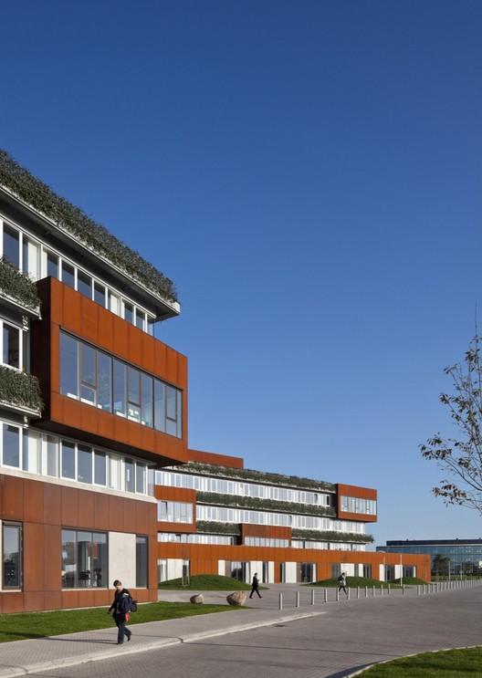 Campus Aarhus N / schmidt hammer lassen architects, © Adam Mørk Architectural Photography