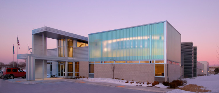 Sheboygan Police Department / Zimmerman Architectural Studios, © Greg Gent