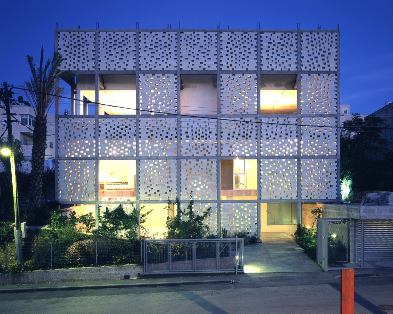 The mashrabiya house senan abdelqader archdaily - Britains most modern buildings the contemporary design competition ...