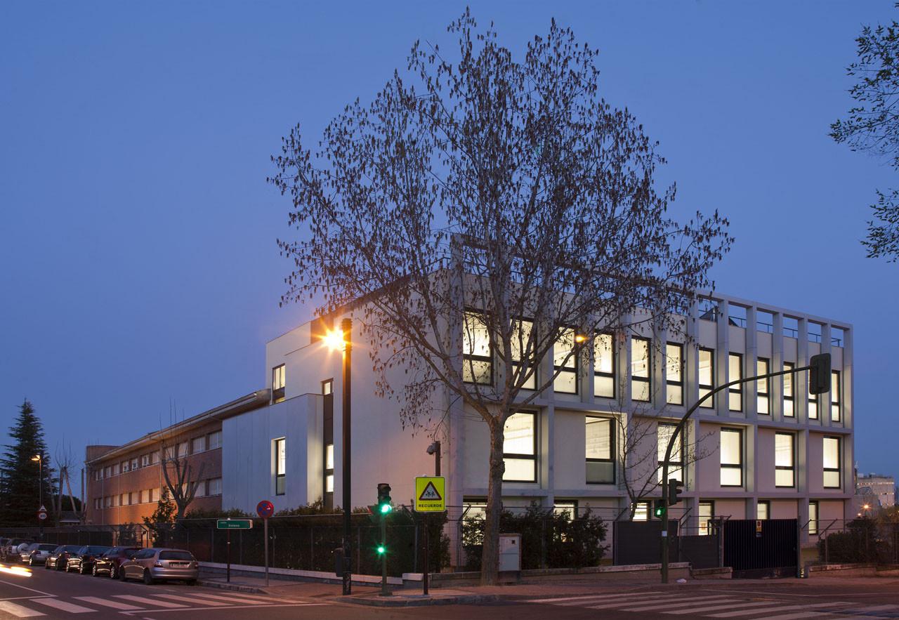 British Council School in Madrid / Broadway Malyan, Courtesy of  broadway malyan