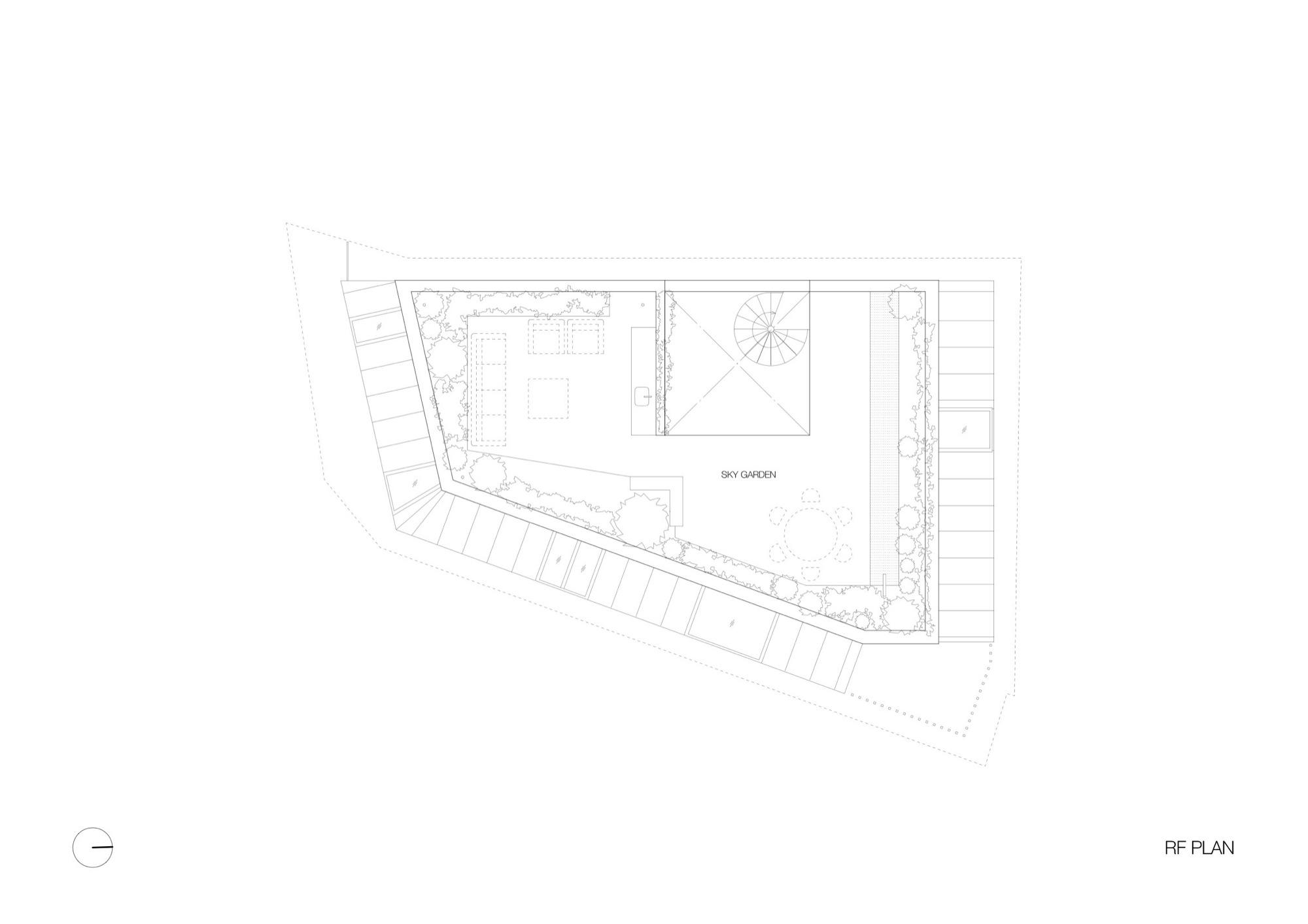 Gallery of sky garden house keiji ashizawa design 18 - Residence contemporaine sky garden keiji ashizawa design ...