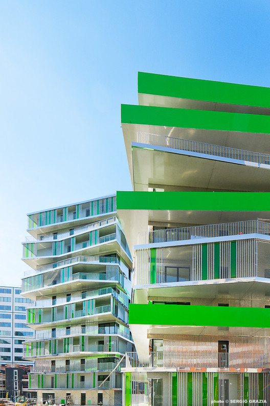 Villiot-Rapée Apartments / HAMONIC + MASSON, ©  Grazia