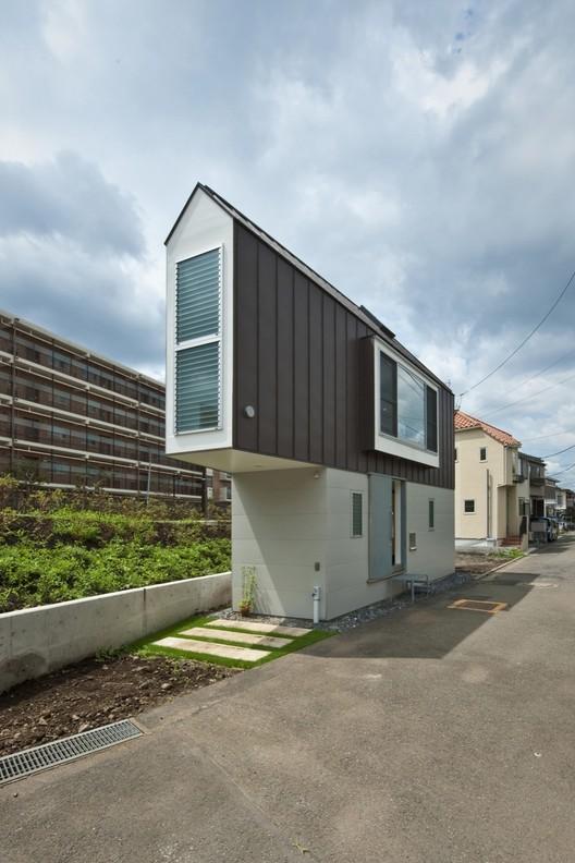 House in Horinouchi / Mizuishi Architects Atelier, © Hiroshi Tanigawa