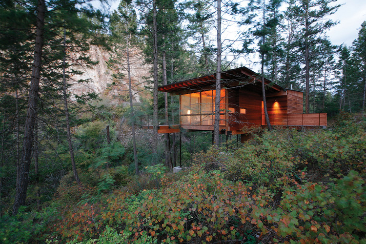 Cabin on Flathead Lake / Andersson Wise Architects, © Art Gray