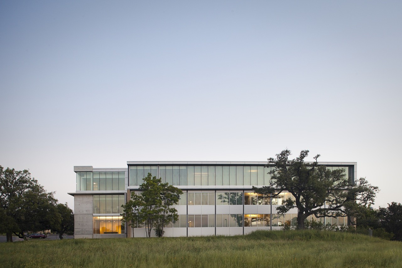 Andersson Wise Architects Office Archdaily - Tower-house-in-texas-by-andersson-wise-architects