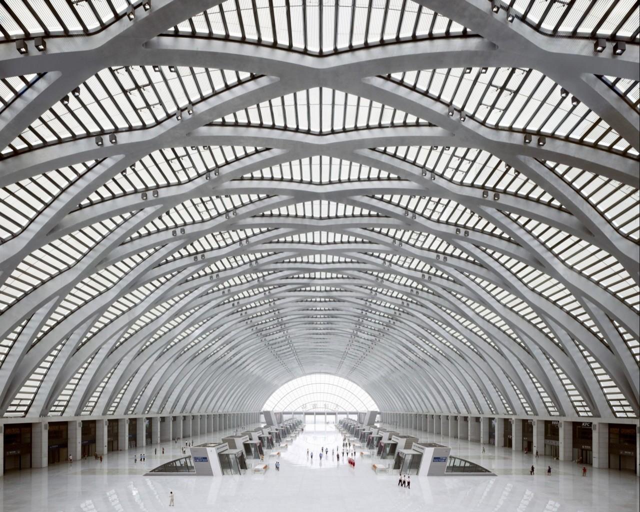 Tianjin West Railway Station / gmp architekten, Courtesy of  gmp architekten
