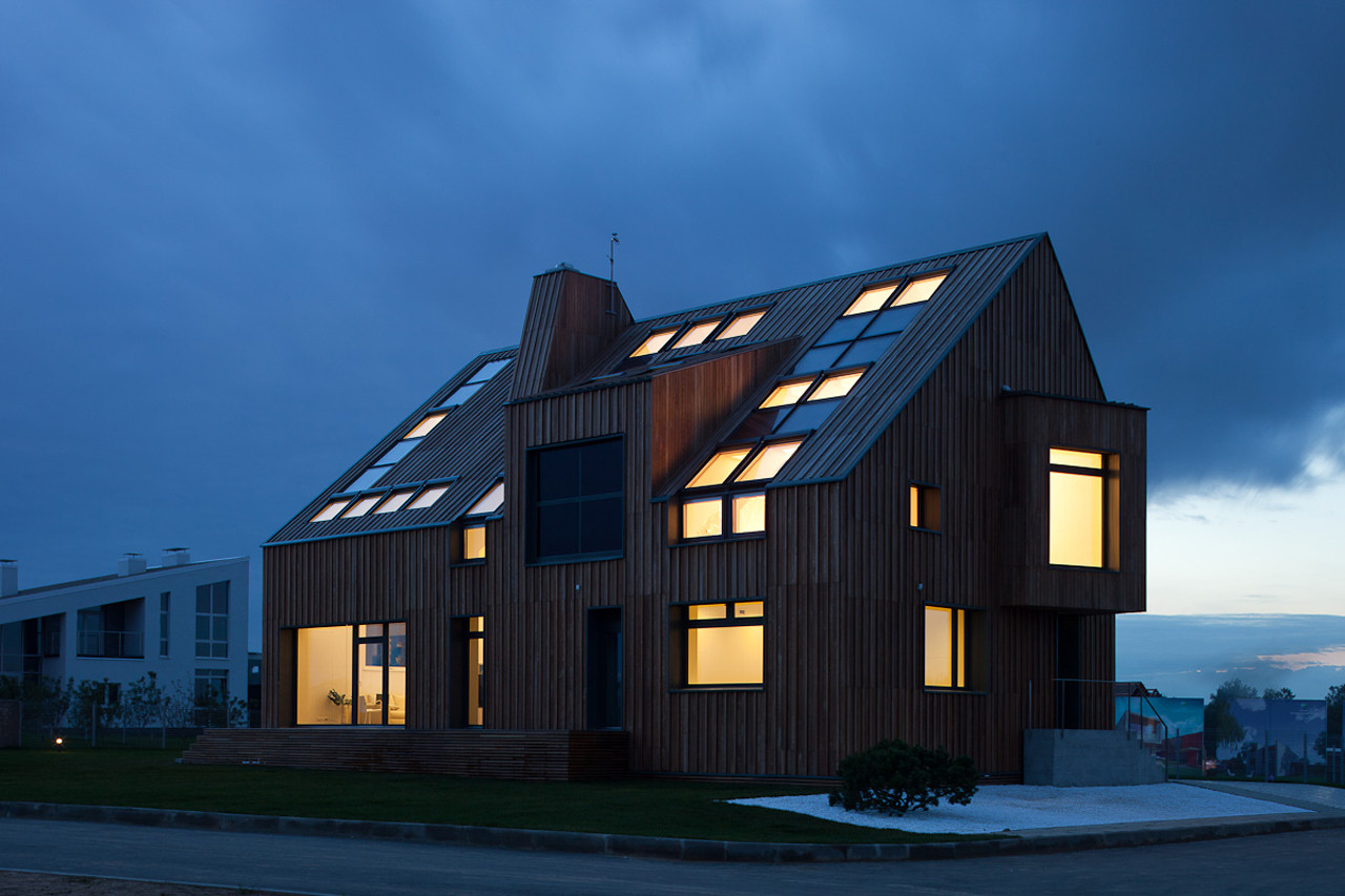 Charming The First Active House In Russia,© Torben Eskerod Good Looking