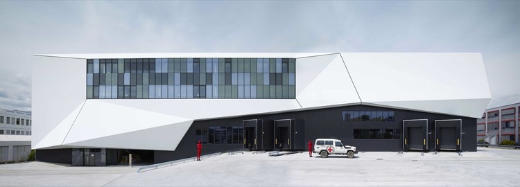 ICRC Logistics Complex / group8, ©  Régis Golay, FEDERAL STUDIO