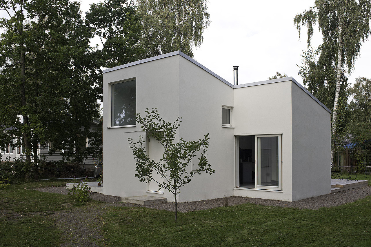 Gallery of small swedish house dinelljohansson 5 for Small house design hd