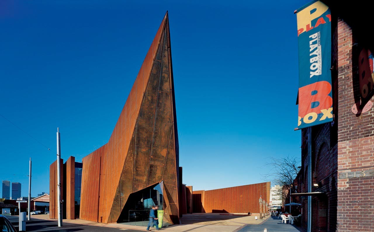Flashback: Australian Centre for Contemporary Art (ACCA) / Wood/Marsh, © Gollings Photography