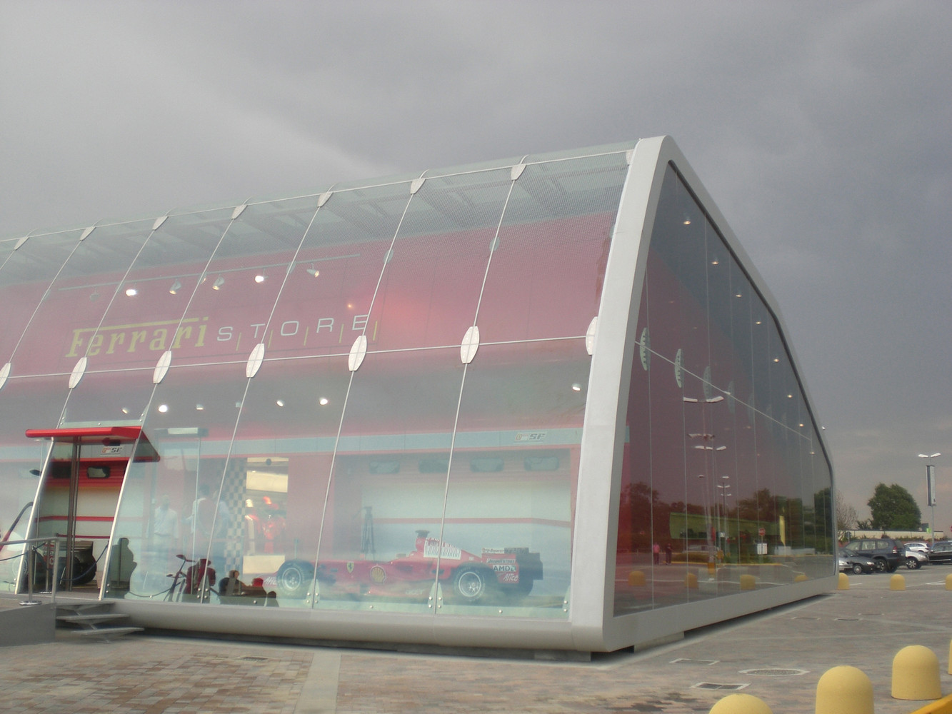 Great Ferrari Factory Store,© Gianluca Grassano Ideas