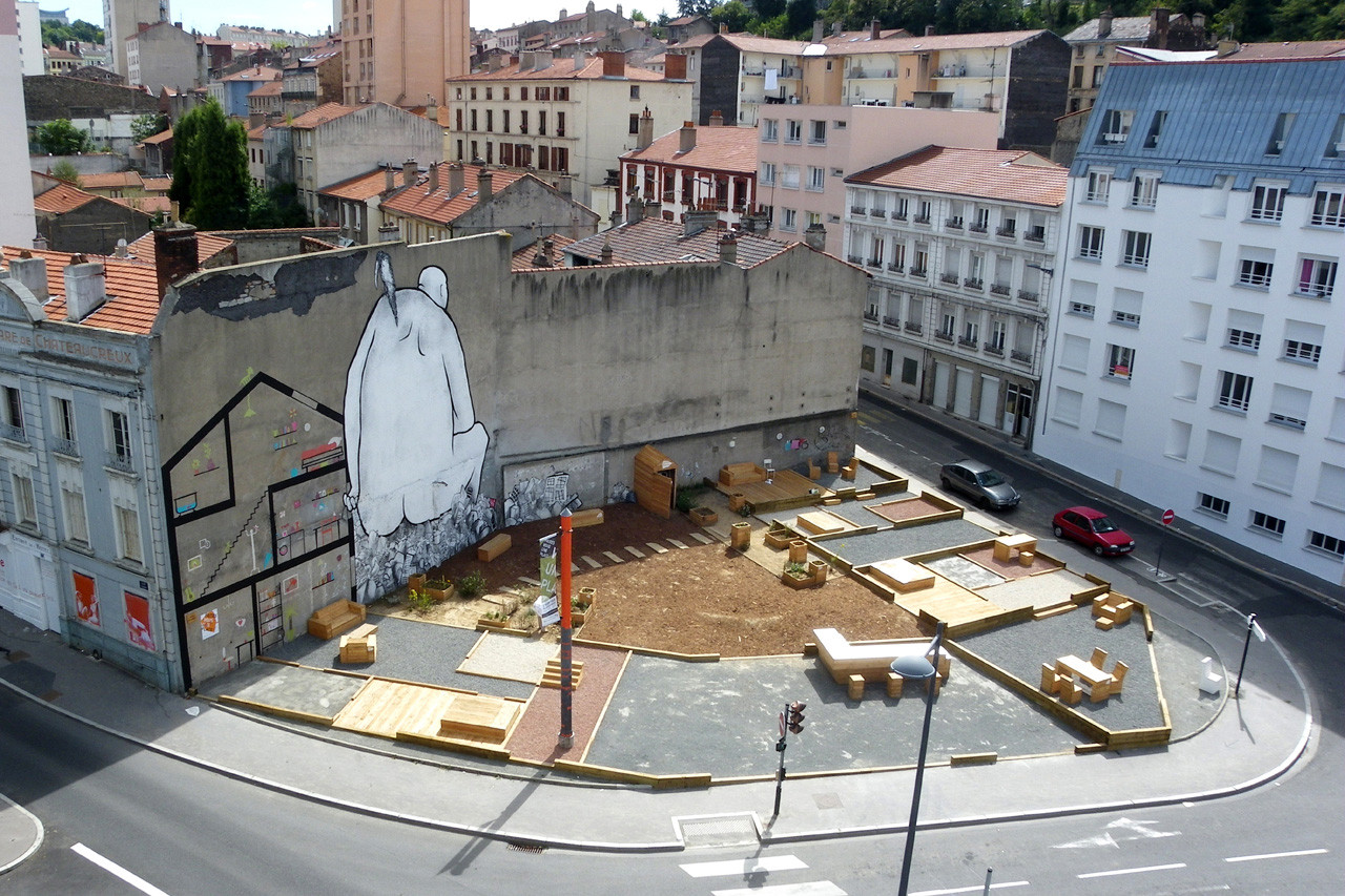 Place au Changement Public Plaza / Collectif Etc, © Collectif ETC