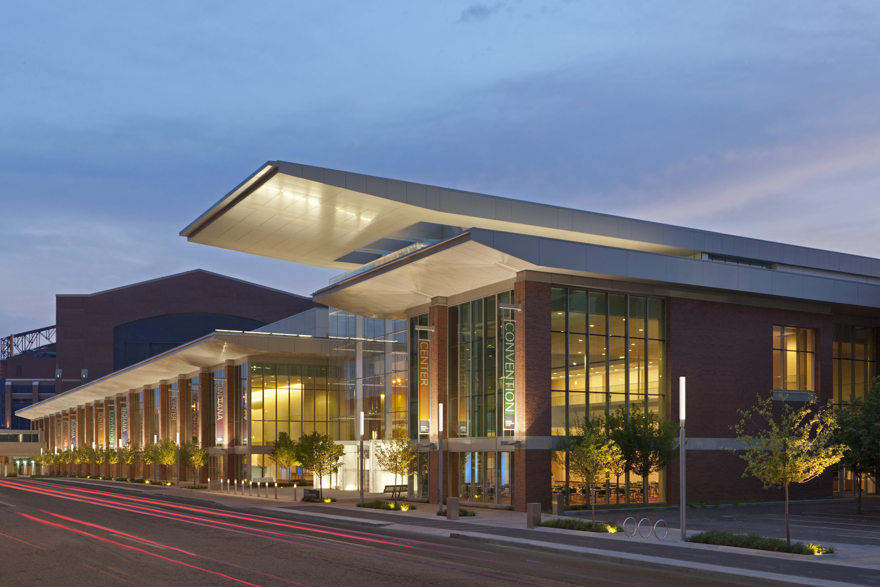 Indiana Convention Center Expansion Ratio Architects